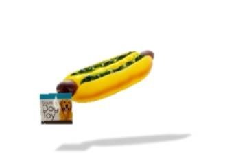Giant Hot Dog Squeaky Toy