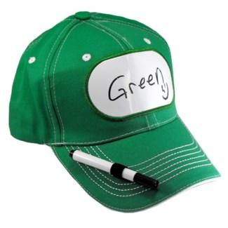Dry Erase Billboard Cap-Green