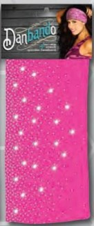 Danbando Pink Sparkle Spray w/Stones**Discontinued**