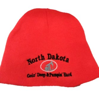 ND GDPH Orange Oil Beanie**Discontinued**