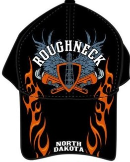 ND Roughneck Wrench Flame Oil Hat