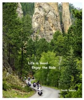 01 3x5 SD Biker Life is Good