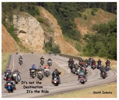 04 3x5 SD Biker It's not the...