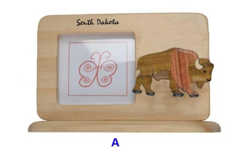 SD Bison Picture Frame