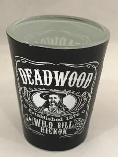 Deadwood JD style shot glass