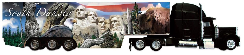 Mt. Rushmore SD Big Rig Semi