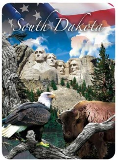 South Dakota/Mt. Rushmore Playing Cards