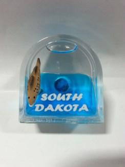 SD Walleye Door shape Magnet
