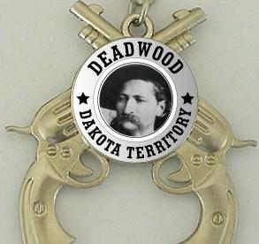 Deadwood Wild Bill Spinner Key chain