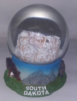 South Dakota Mt. Rushmore Globe