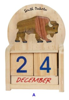 SD Wood Bison Calendar