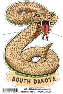 SD Stickers Rattle Snake