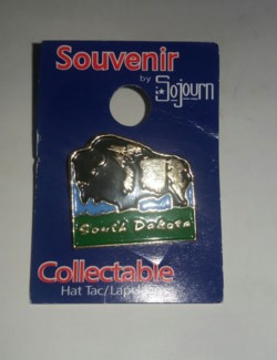 Hat Pin SD Buffalo Carded