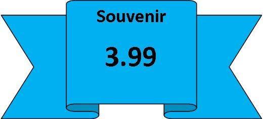 souvenirs 3.99