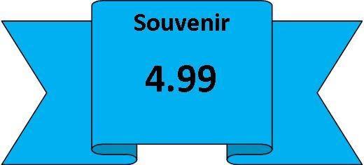 souvenirs 4.99