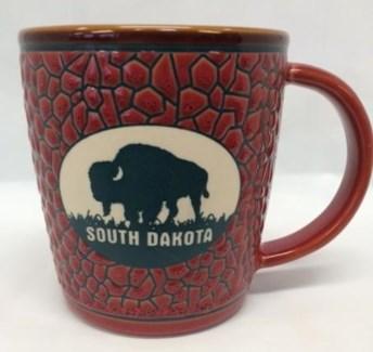 SD Stoneware pebble pattern Mug
