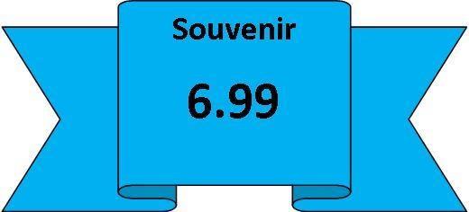 souvenirs 6.99