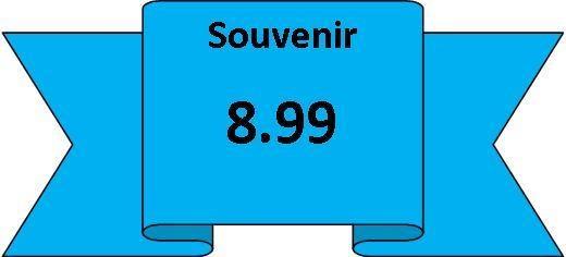 souvenirs 8.99