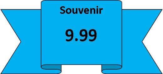 souvenirs 9.99