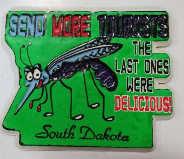 Magnet Mosquito tourist