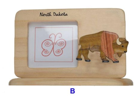 ND Bison Picture Frame