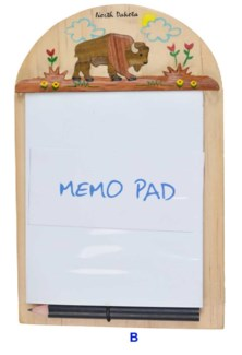 ND Bison Memo Pad Holder
