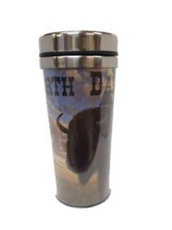 ND Buffalo Travel Mug