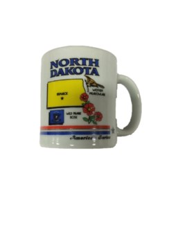 ND Bird/Flag Mug