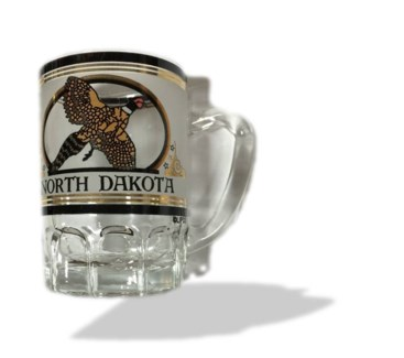 ND Pheasant tankard w/ handle