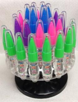 ND Glitter Light up Pen