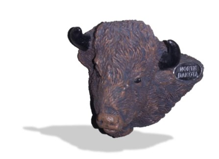 North Dakota Buffalo Magnet