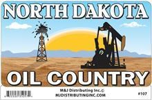ND Oil Country Sticker