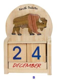 ND Wood Bison Calendar