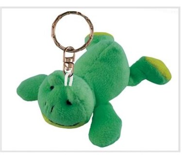 ND Plush Keychain Frog