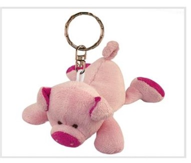 ND Plush Keychain Pig