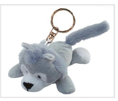 ND Plush Keychain Wolf