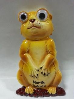 ND Bobble Eye Magnet Prairie Dog
