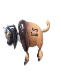 ND Bobble Magnet Buffalo