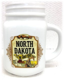 ND White Mason Jar Mug
