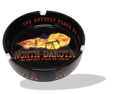 ND Hottest Place on Earth Ashtray