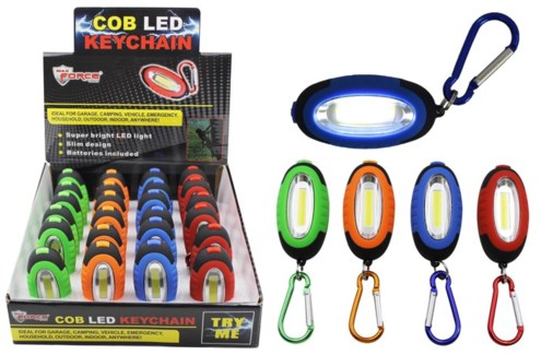 COB LED Keychain 24/dsp **Discontinued**