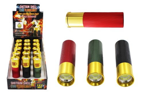COB LED Shotgun Shell Flashlight 15 DP