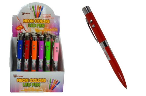 LED Pen Laser Flashlight 24/Dsp**Discontinued**