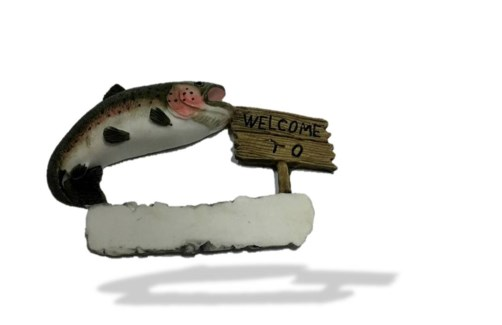 Rainbow Trout Welcome To...Magnet