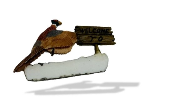 Pheasant Welcome To...Magnet