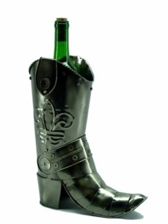Cowboy Boot Bottle Holder 11.5X9