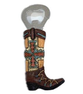 Western Boot Bottle Opener