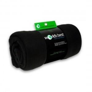 Fleece Blanket-Black