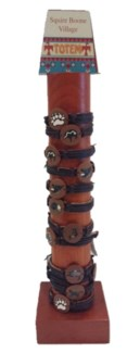 Totem Leather Drawstring Bracelets