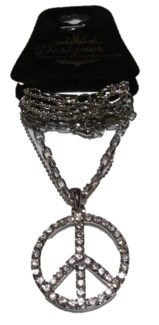 Peace Bling Necklace  **Discontinued**